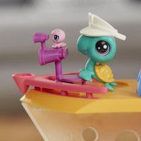 Hasbro Littlest Pet Shop Hrací set výletní loď se 3 zvířátky 5