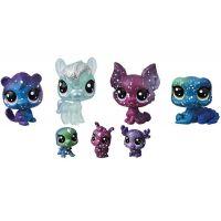 Hasbro Littlest Pet Shop Kosmická zvířátka 7 ks 2252