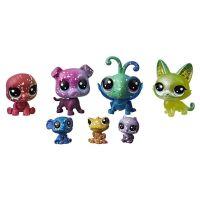 Hasbro Littlest Pet Shop Kosmická zvířátka 7 ks 2253