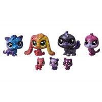 Hasbro Littlest Pet Shop Kosmická zvířátka 7ks 2254