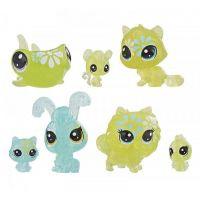 Hasbro Littlest Pet Shop Květinová zvířátka 7ks zelená kopretina