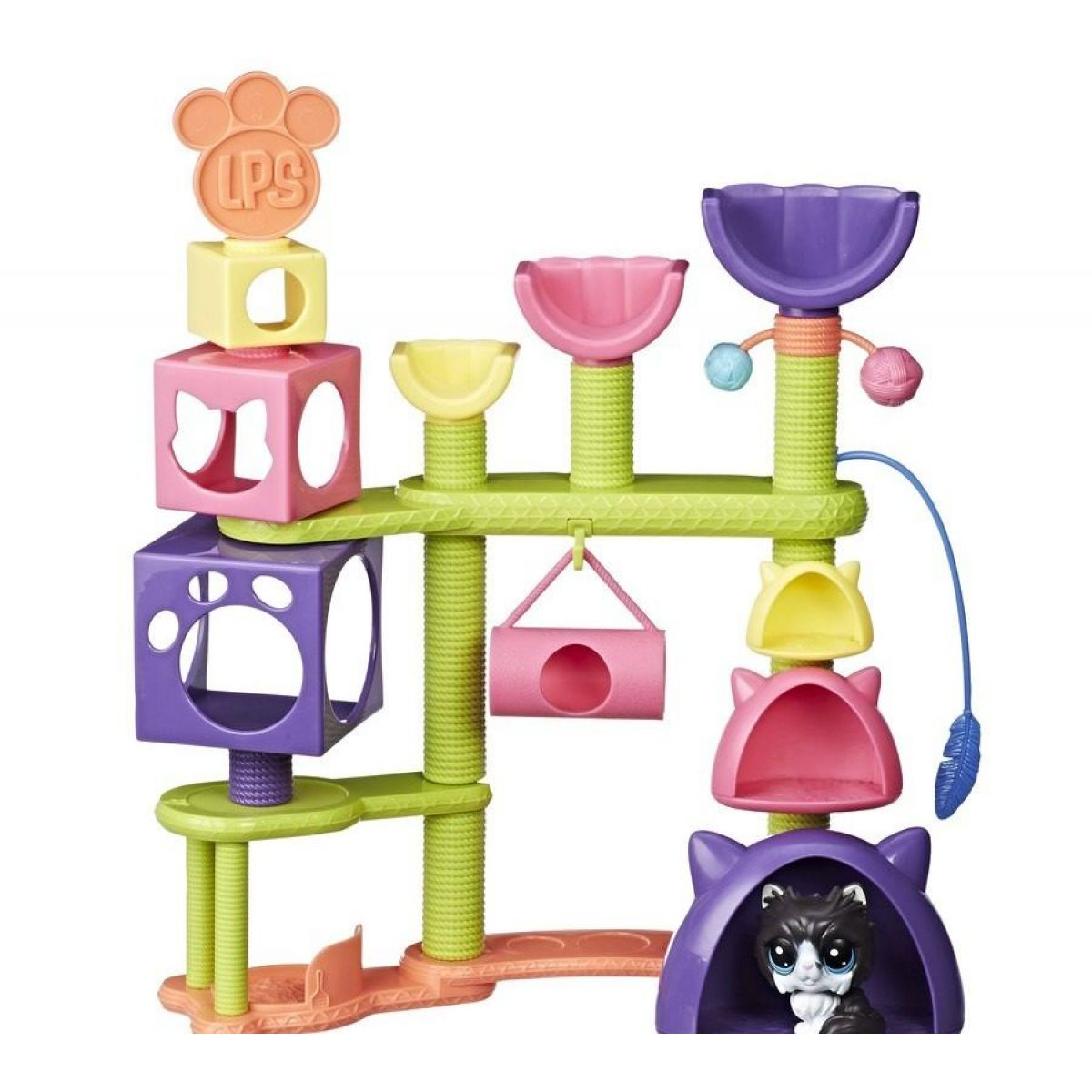 Hasbro Littlest Pet Shop Set Kočičí domeček