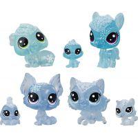 Hasbro Littlest Pet Shop Zvířátka z ledového království 7 ks modrá
