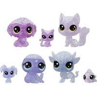 Hasbro Littlest Pet Shop Zvířátka z ledového království 7 ks fialová