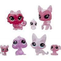 Hasbro Littlest Pet Shop Zvířátka z ledového království 7 ks červená