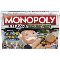 Hasbro Monopoly falešné bankovky CZ verze