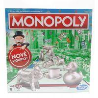 Hasbro Monopoly hra stříbrné figurky CZ