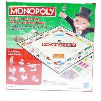 Hasbro Monopoly hra stříbrné figurky CZ 2
