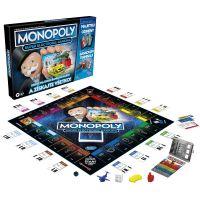 Hasbro Monopoly Super Elektronické Bankovnictví SK verze