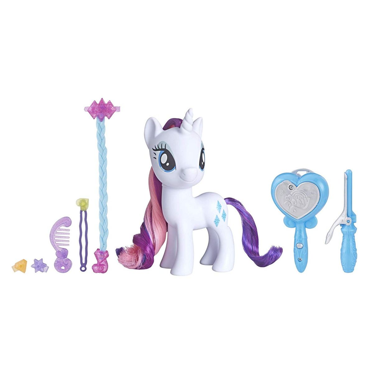 Hasbro My Little Pony MLP Magický vlasový salon Rarity