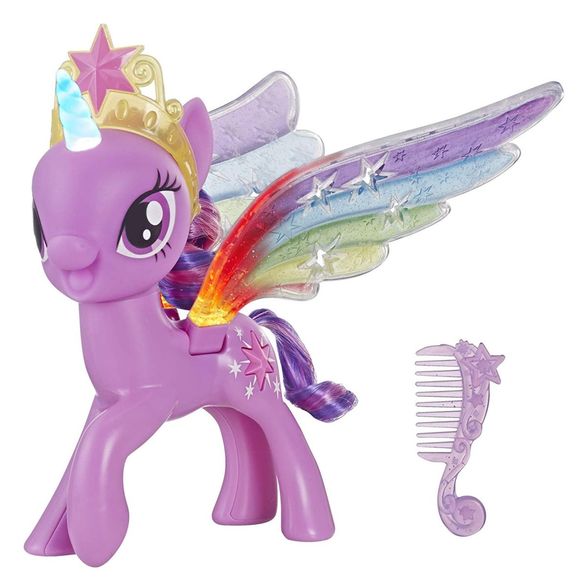 Hasbro My Little Pony MLP Twilight Sparkle s duhovými křídly