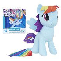 Hasbro My Little Pony plyšový poník s potiskem hřívy 12 cm Rainbow Dash Mořský