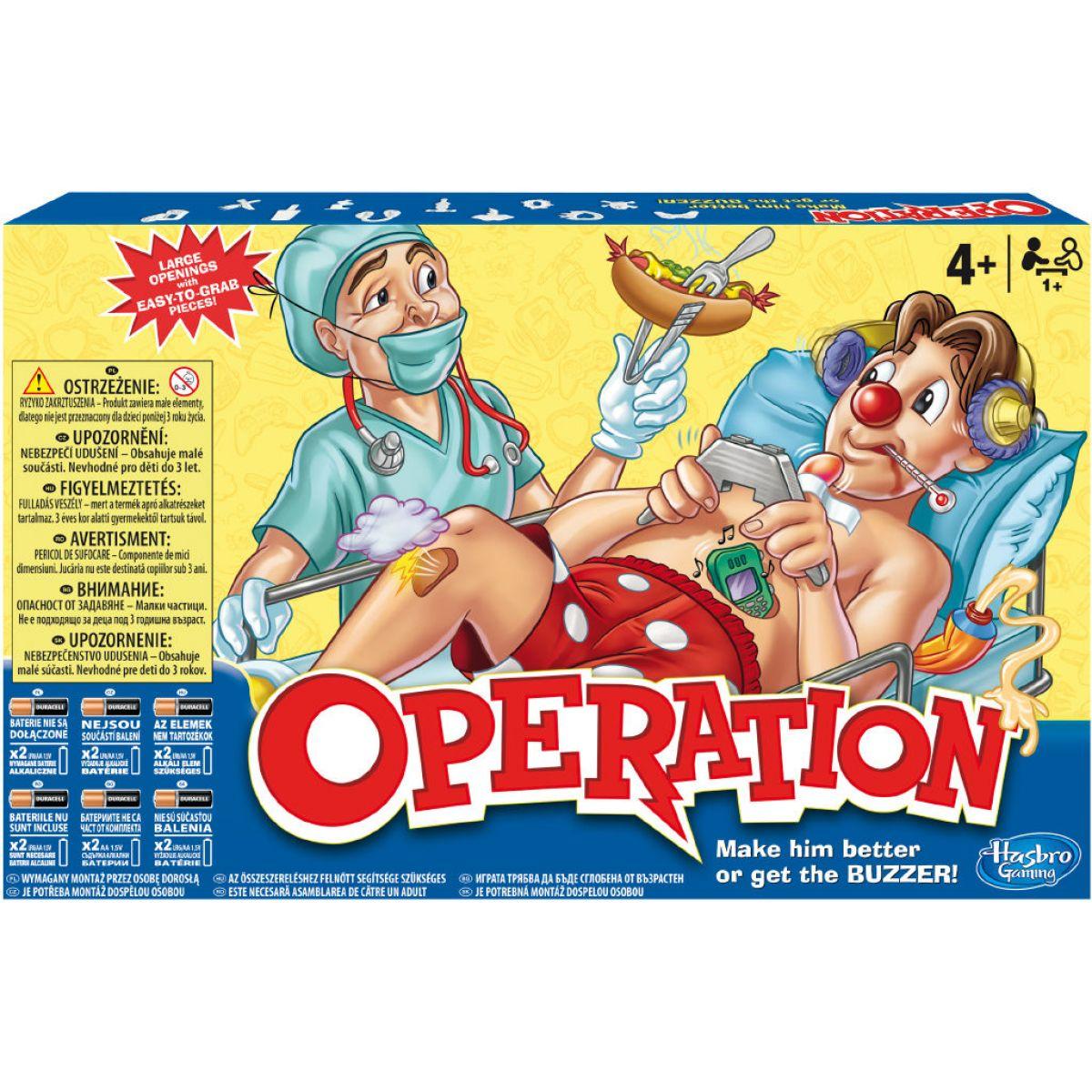 Společenská hra Operace v novém provedení (A4053)