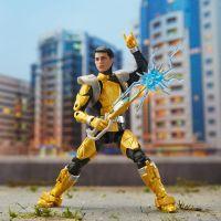 Hasbro Power Rangers 15 cm figurka s výměnnou hlavou Beast Morphers Gold Ranger 6