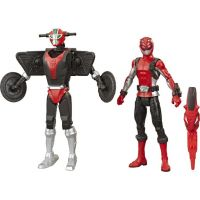 Hasbro Power Rangers 15 cm akční figurka Beastbot Red Ranger