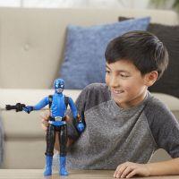 Hasbro Power Rangers 30 cm akční figurka Blue Ranger 6