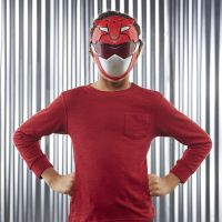 Hasbro Power Rangers Maska červená 4