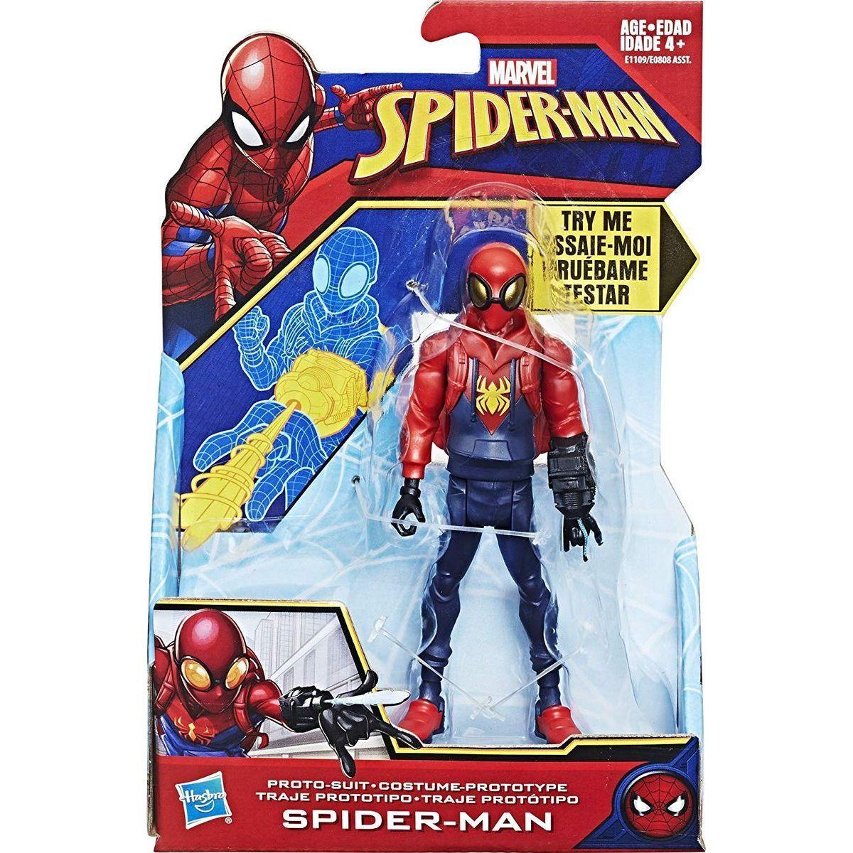 Letní Filmy Které Vás Budou Bavit: Spiderman 15cm Figurky S Vystřelovacím Pohybem Spider-Man