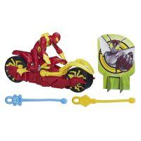 Hasbro Spiderman Akční figurka se závodním vozidlem - Iron Spider