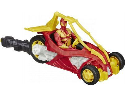 Hasbro Spiderman Akční figurka s vozidlem - Iron Spider