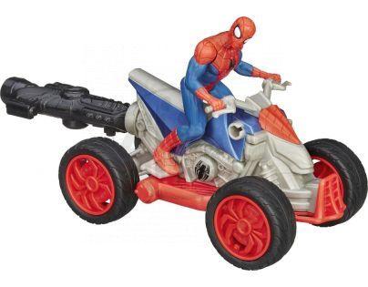 Hasbro Spiderman Akční figurka s vozidlem - Spiderman čtyřkolka