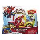 Hasbro Spiderman Akční figurka se závodním vozidlem - Iron Spider 2