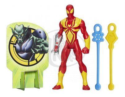 Hasbro Spiderman Akční figurka vrhající pavučinu - Iron Spider