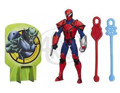 Hasbro Spiderman Akční figurka vrhající pavučinu - Spyder Knight