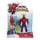 Hasbro Spiderman Akční figurka vrhající pavučinu - Spyder Knight 2
