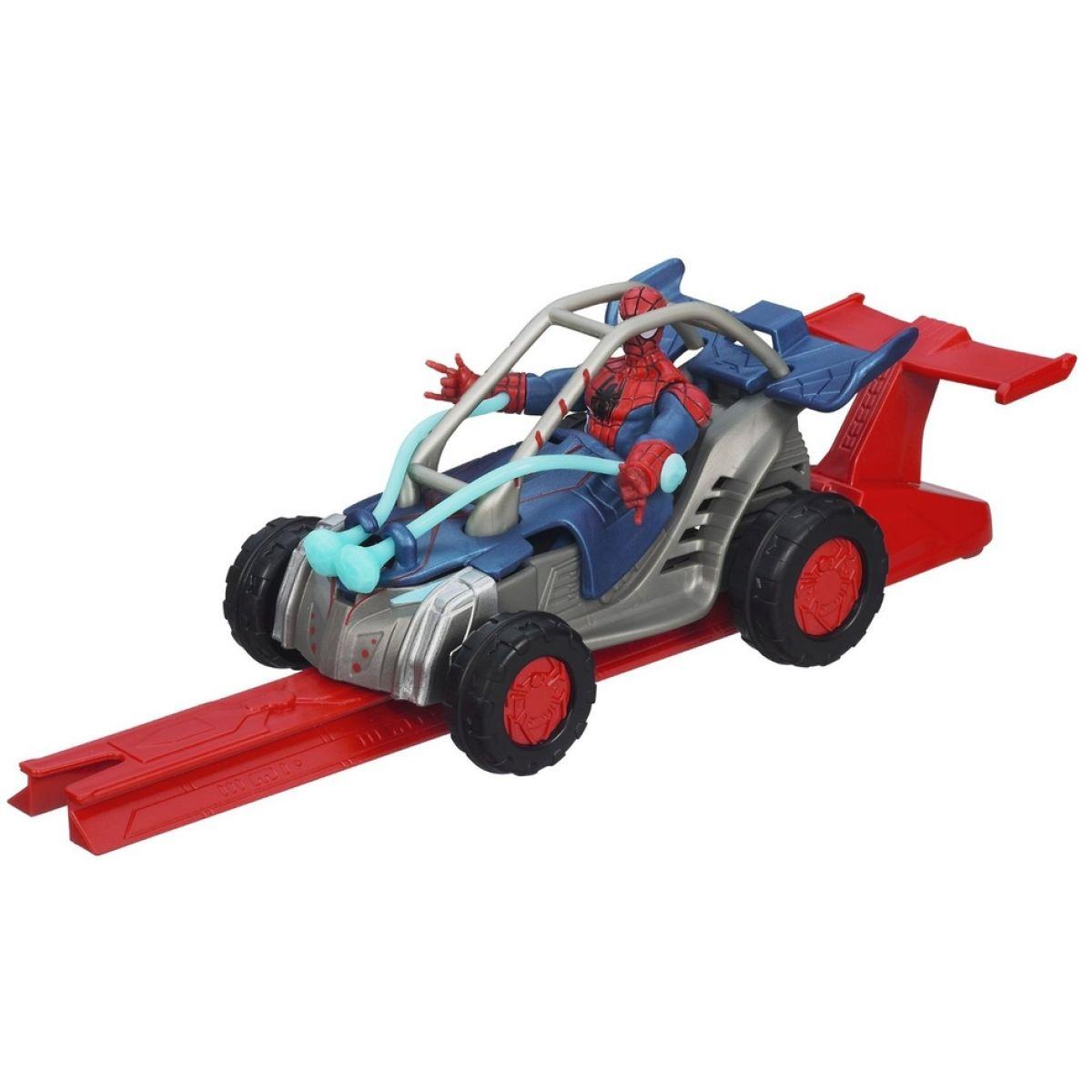 Spiderman akční vystřelovací vozidla - Turbo Cruiser
