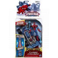 Spiderman akční vystřelovací vozidla - Turbo Cruiser 4