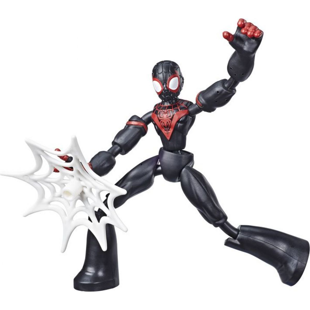 Hasbro Spiderman figurka Bend and Flex Miles Morales