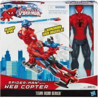 Hasbro Spiderman figurka s vrtulníkem 2