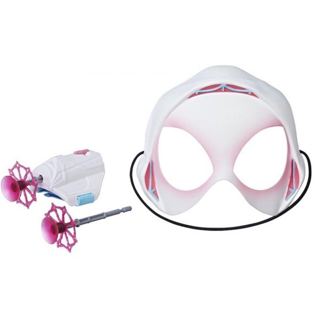 Hasbro Spiderman Maska a výstroj s projektily Spinder Gwen