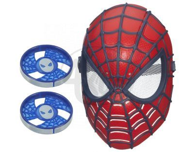 HASBRO A5713 - SPIDERMAN elektronická maska střílí disky
