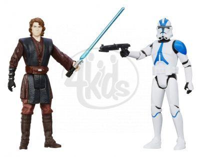 Hasbro Star Wars akční figurky 2ks - Anakin Skywalker a 501 Legion Trooper