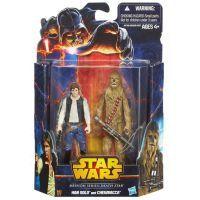 Hasbro Star Wars akční figurky 2ks - Han Sola a Chewbacca 2