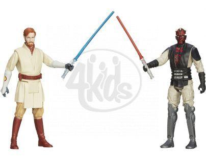 Hasbro Star Wars akční figurky 2ks - Obi-Wan Kenobi a Darth Maul