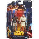 Hasbro Star Wars akční figurky 2ks - Obi-Wan Kenobi a Darth Maul 2