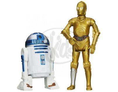 Hasbro Star Wars akční figurky 2ks - R2-D2 a C3PO