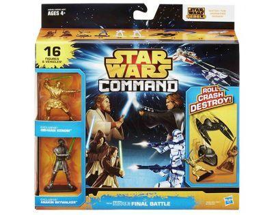 Hasbro Star Wars Command Vesmírné lodě s minifigurkami
