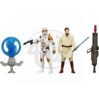 Hasbro Star Wars Epizoda 7 Dvojbalení figurek - Clone Commander Cody a Obi-Wan Kenobi