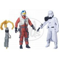 Hasbro Star Wars Epizoda 7 Dvojbalení figurek - First Order Snowtrooper Officer a Snap Wexley
