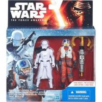 Hasbro Star Wars Epizoda 7 Dvojbalení figurek - First Order Snowtrooper Officer a Snap Wexley 2