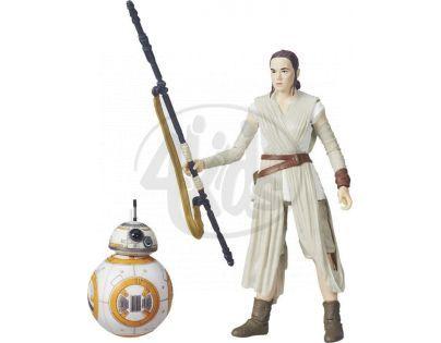 Hasbro Star Wars Epizoda 7 Figurka 15cm - Rey a BB-8
