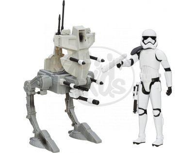 Hasbro Star Wars Epizoda 7 Figurka a vozidlo - Assault Walker a Stormtrooper