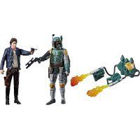 Hasbro Star Wars Force Link Dvě deluxe figurky 9,5 cm Han Solo a Boba Fett