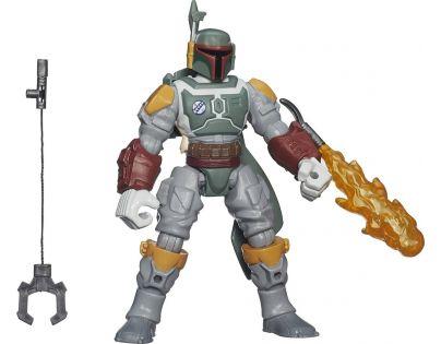 Hasbro Star Wars Hero Mashers prémiová figurka - Boba Fett