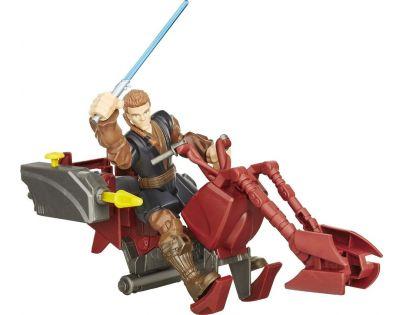 Hasbro Star Wars Hero Mashers Speeder - Jedi Speeder a Anankin Skywalker