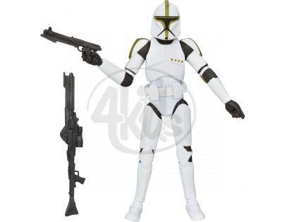 Hasbro Star Wars Pohyblivé prémiové figurky - Clone Trooper Sergeant